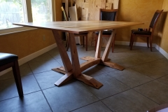 Arched Base Dining Table
